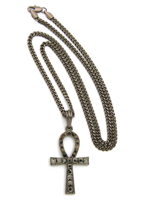 African Ankh Cross Chain Pendant