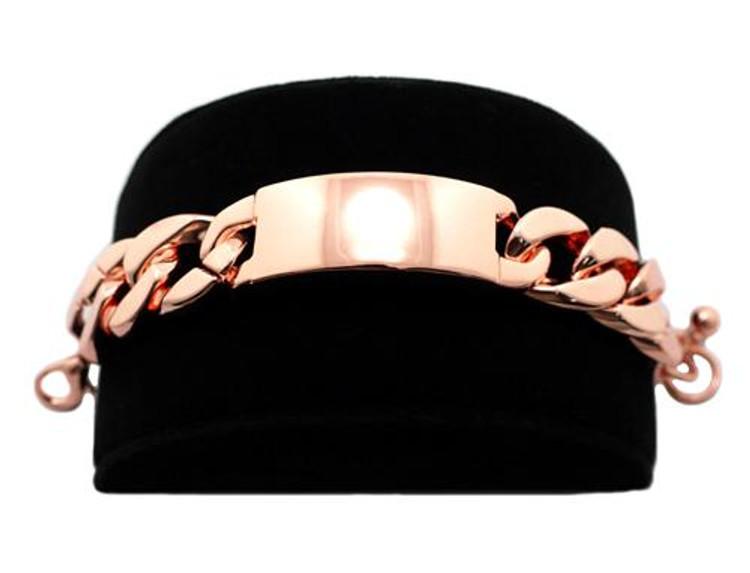 Rihanna Inspired Cooper 20mm Chunky ID Bracelet