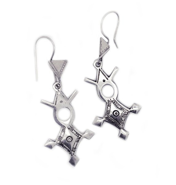 Agadez Cross Earrings