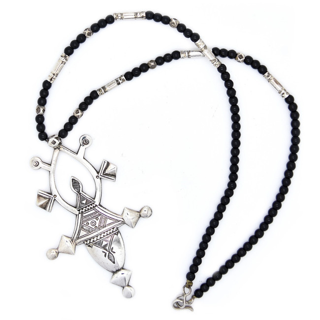 Tahoua Cross Necklace Full View