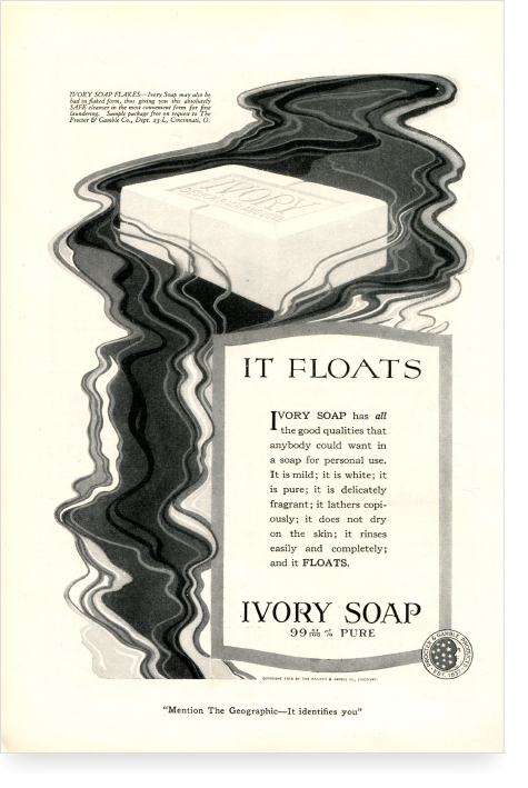 Early Ivory Advertisement