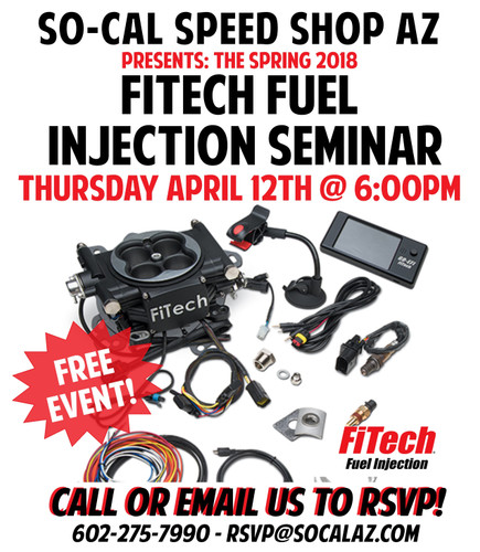 2018 FiTech Fuel Injection Seminar
