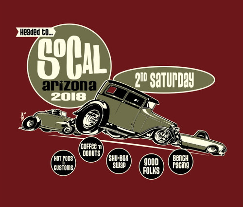 SO-CAL Speed Shop AZ's Second Saturday Join us January 13th at 6:00am!