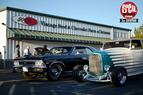 SO-CAL Speed Shop AZ's Second Saturday - Join us June 9th at 6:00am