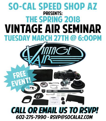 2018 Vintage Air A/C Seminar