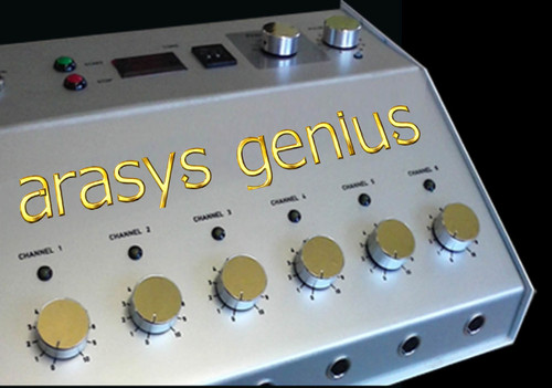 Advanced Arasys Genius Cleared by the FDA K132179 with new IEC 60601 screw on leads