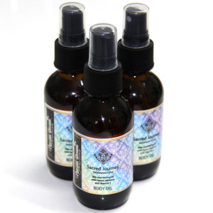 Sacred Journey Body Oil Spray