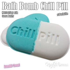 Chill Pill  Bath Bomb - Amilfi Coast 150g
