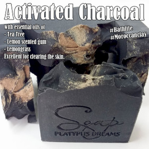 Activated Charcoal Gourmet Soap