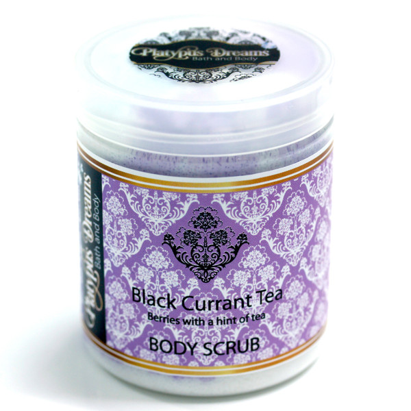 Black Currant Tea Sugar Scrub