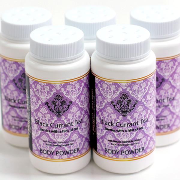 Black Currant Tea Body Powder - Travel Size