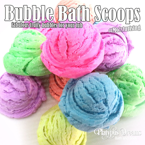 Bubble Bath Scoops 6 pack - 300g