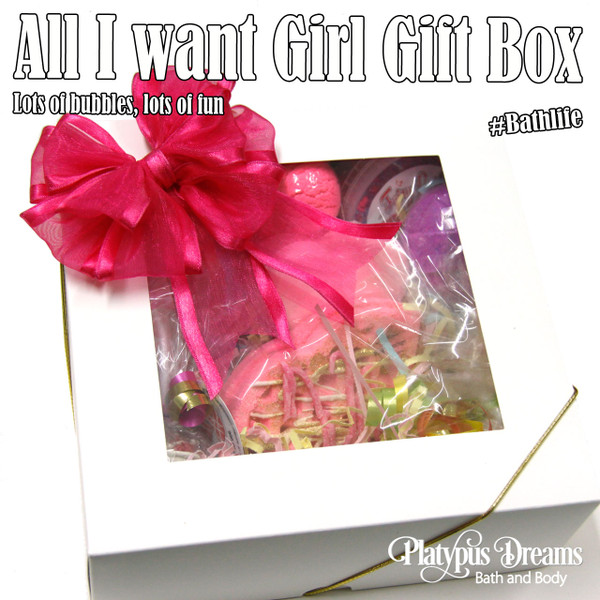 All I want Girl Gift Box