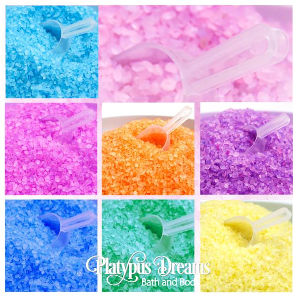 Custom Bath Salt Soaks - 1kg + Free Scoop