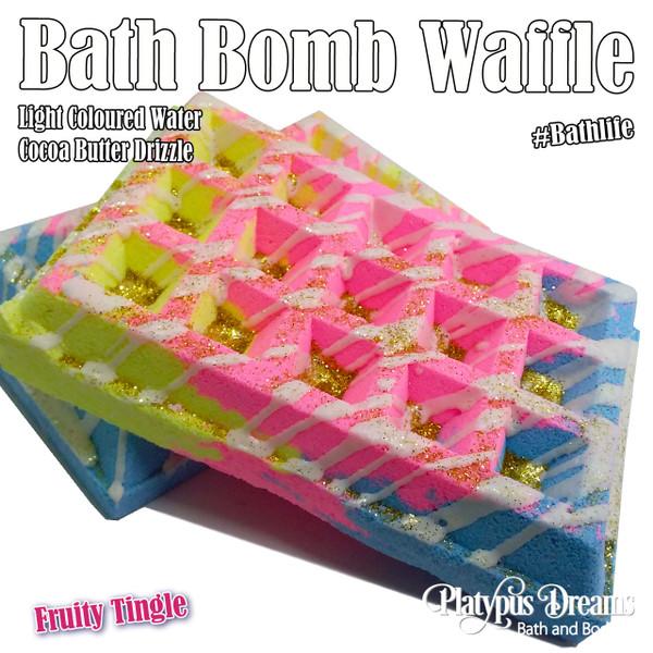 Fruity Tingle Waffle Bath Bomb 200g