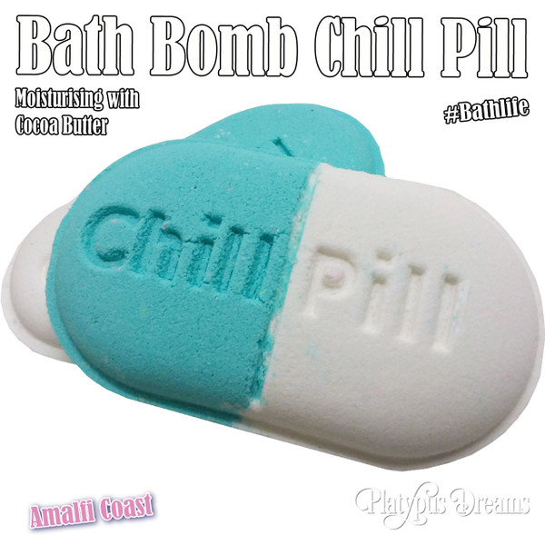 Chill Pill  Bath Bomb - Amilfi Coast 150g