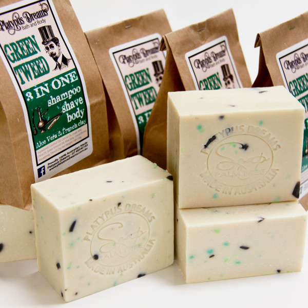 Green Tweed - Palm Free Soap