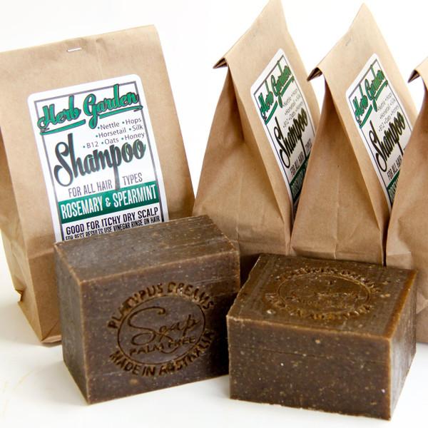 Herb Garden Original - Shampoo Soap - Rosemary and Spearmint