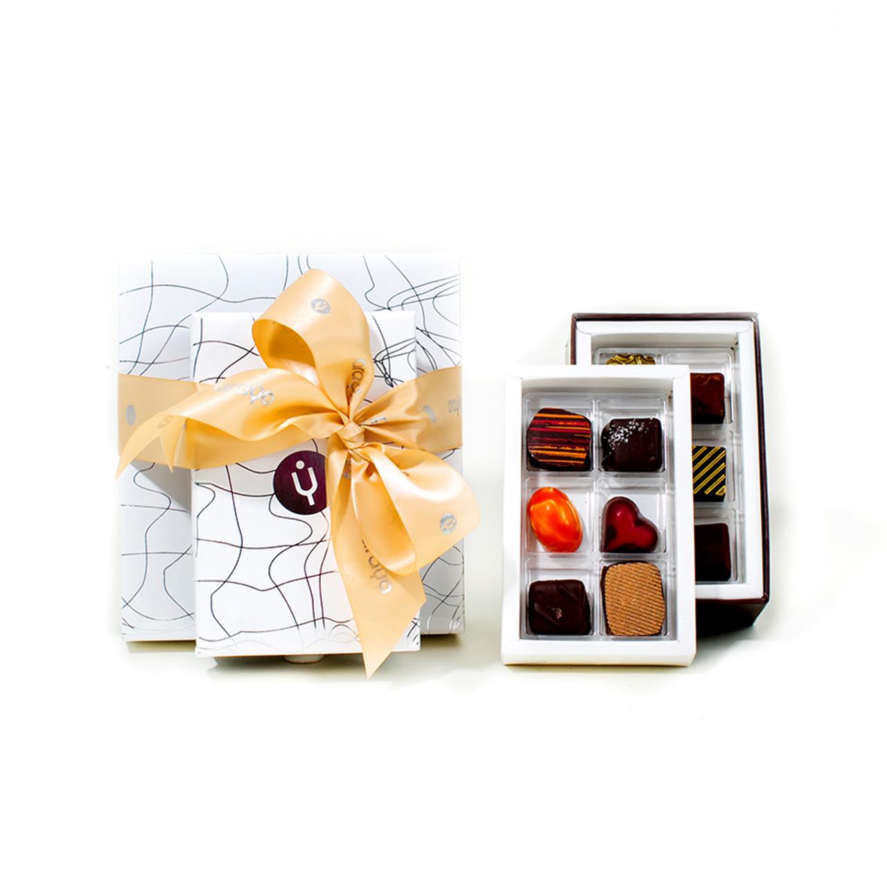 12 Chocolate Gift Box (Two layers)