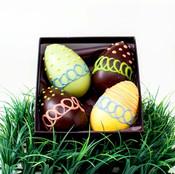 Araya artisan chocolate gourmet artisan chocolate dark easter egg gift box negle Image collections