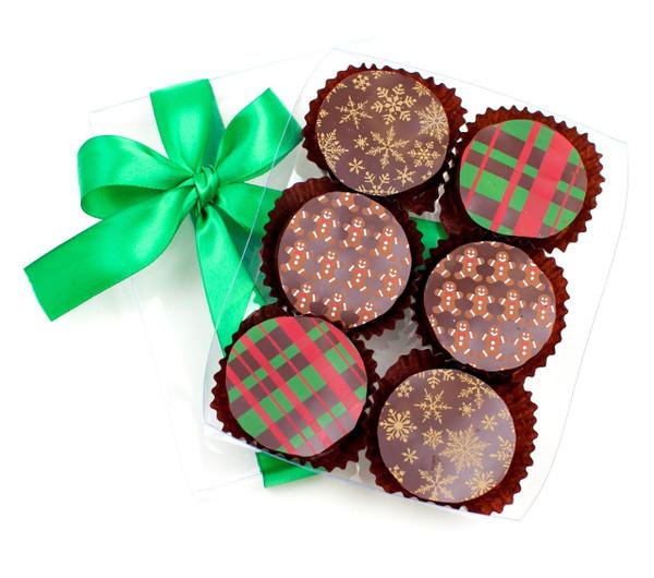 HOLIDAY CHOCOLATE COVERED OREOS
