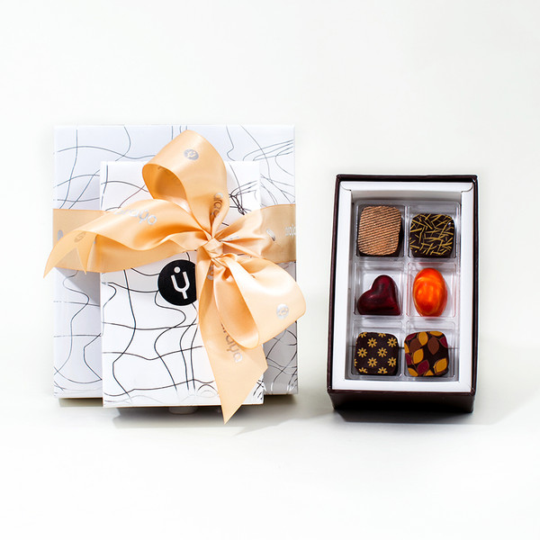 6 Chocolate Gift Box