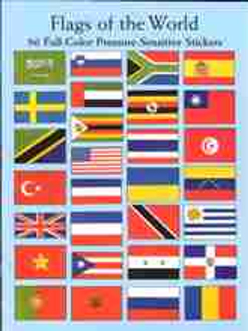 Flags Of The World - Stickers