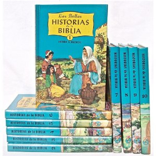Bible Stories (Spanish) 10 Vol set