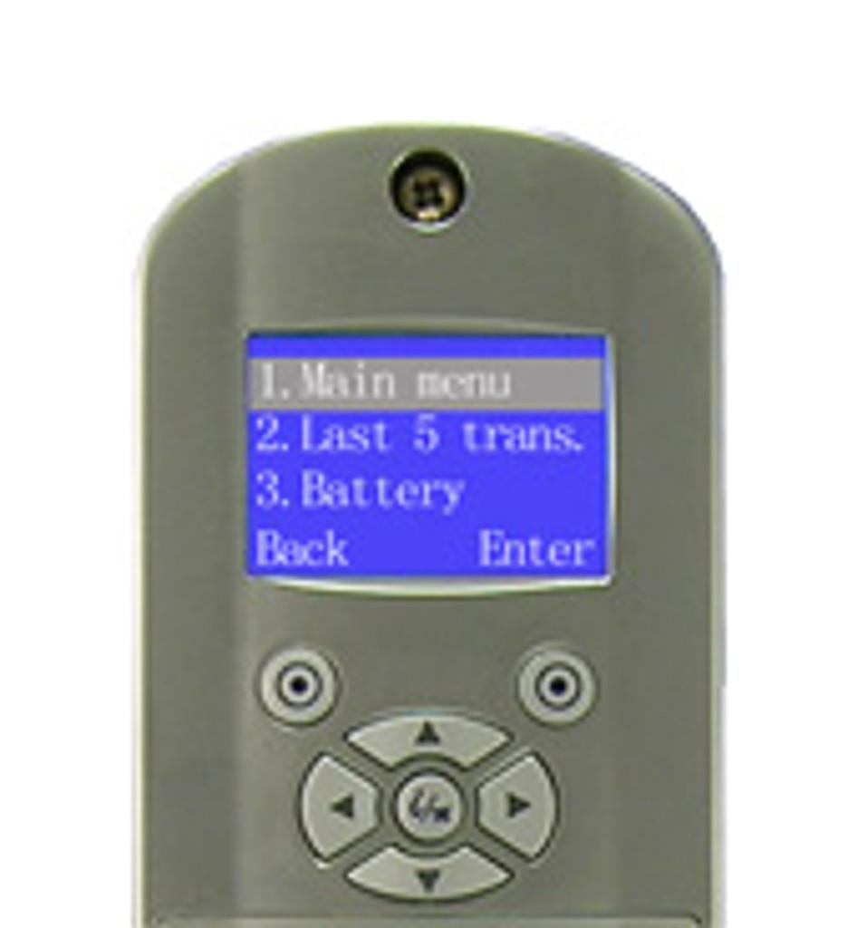 1TouchXL Fingerprint Lock Management Screen Display
