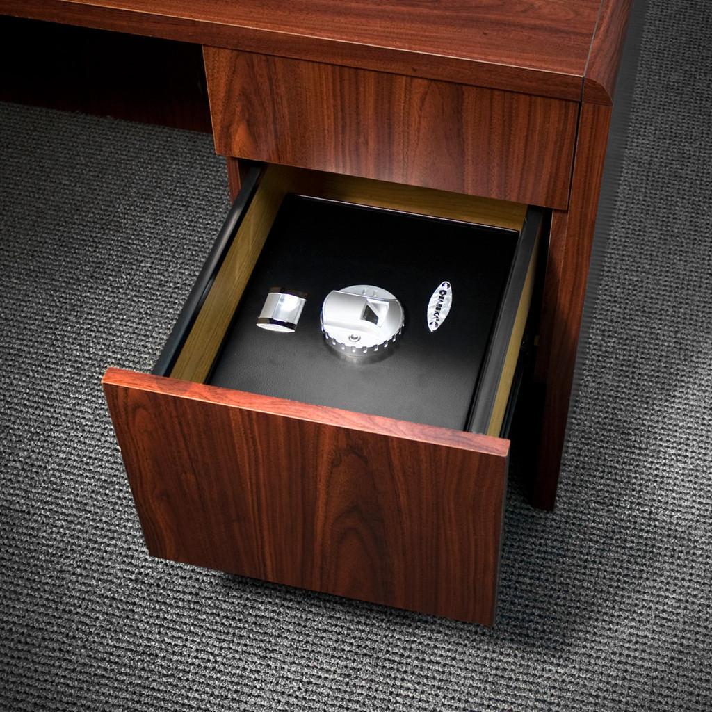 Barska AX11556 in a Desk