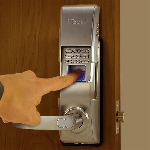 & Reversible Fingerprint Door Lock - The 1Touch evo3
