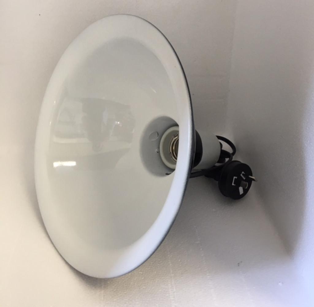 "Clamp Lamp 10"""