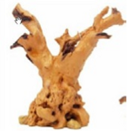 Tree root resin ornament medium