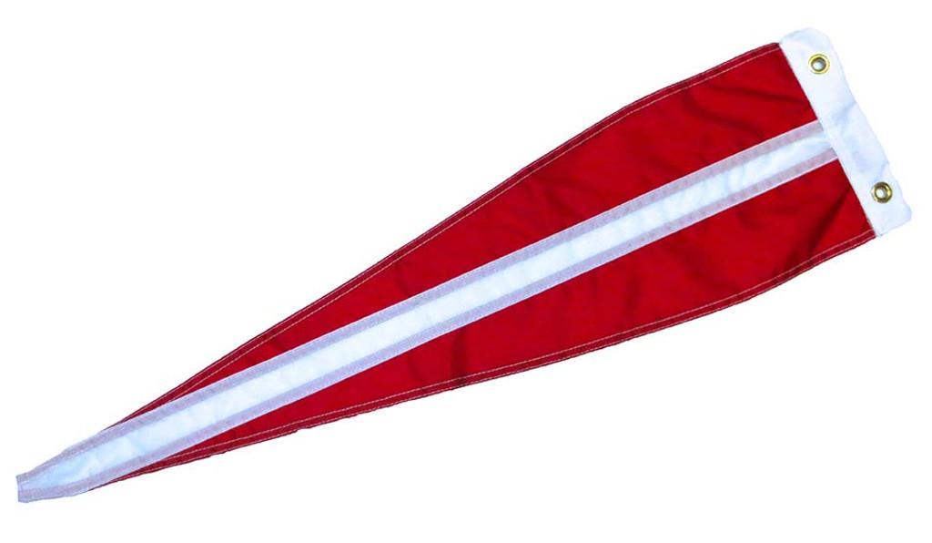 """Danish Vimple Flag - 84"""" - Long"""