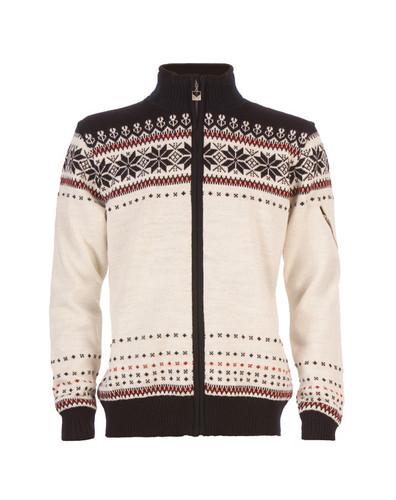 Dale of Norway Ulriken Windstopper - Off-White/Navy/Red Rose, 82781-A