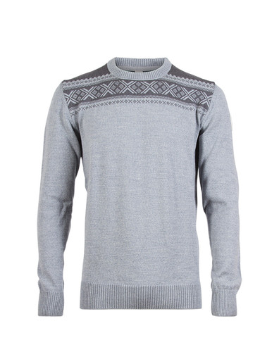 Dale of Norway Hemsedal Sweater, Mens - Light Charcoal/Smoke, 91961-T