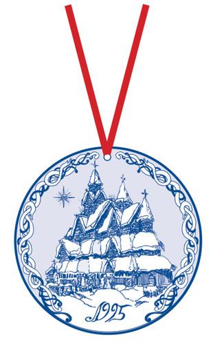 1995 Stav Church Ornament - Heddal