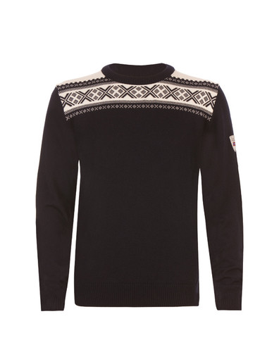 Dale of Norway Hemsedal Sweater, Mens - Navy Melange/Off White, 91961-C