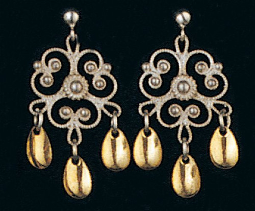 Solje of Norway Clover Flower Earrings