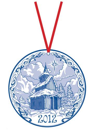 2012 Stav Church Ornament- Torpo