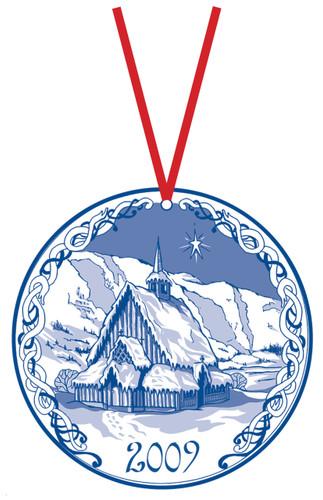 2009 Stav Church Ornament - Oye