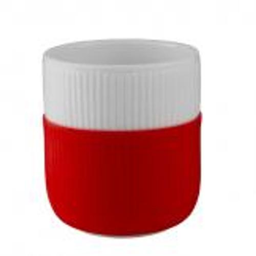 Royal Copenhagen Fluted Contrast Mug - Scarlet Red