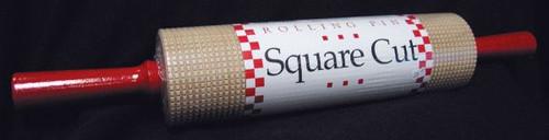 Lefse Rolling Pin - Square Cut