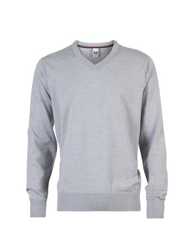 Dale of Norway Harald Sweater, Mens - Light Grey Melange, 92412-E