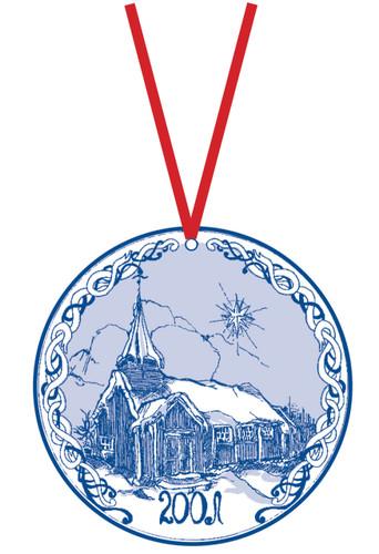 2001 Stav Church Ornament - Grip
