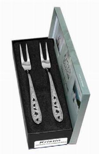 Fjord Design Kristin 2-Piece Pickle Fork Set