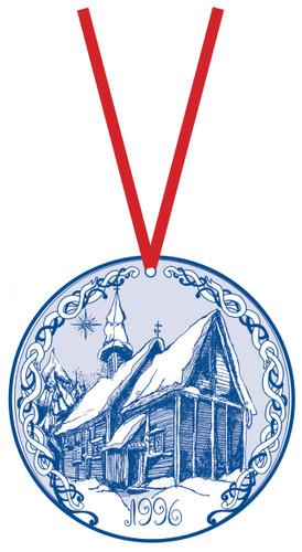 1996 Stav Church Ornament - Lomen