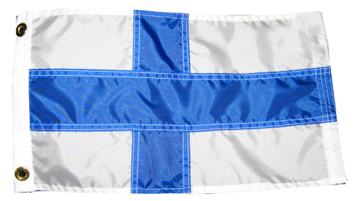 Finnish Boat Flag