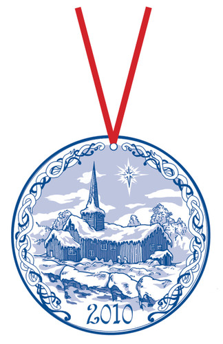 2010 Stav Church Ornament - Flesberg