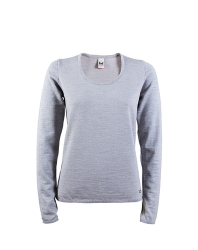 Dale of Norway Astrid Sweater, Ladies - Light Grey Mel, 92432-E